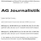Journalistik-AG: Erster Treff
