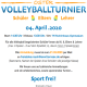 Ostervolleyballturnier am 4. April 2020